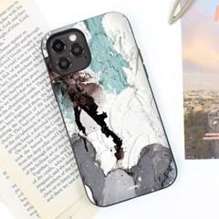 유스픽 텍스쳐 : 시멘트 마그네틱 미러카드포켓 케이스
