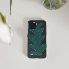 [스리살짝] life colour plant(clear) 라이프컬러 투명젤리 케이스