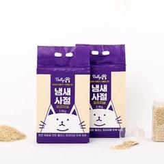 밸리스 냄새사절 2.8kg [6개] / 고양이 두부모래