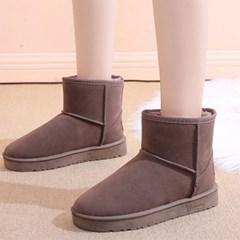 [코지23]여자 스트릿 패션 베이직 양털부츠