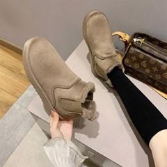 [코지23]여자 캐주얼 패션 첼시 퍼안감 털부츠