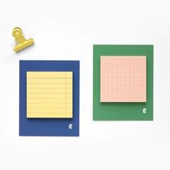 Square sticky pad_urban (점착식 메모지)