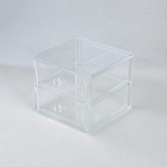 [모던하우스] 프로페셔널 아크릴 2단 서랍 W18xH15cm