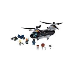 [레고 어벤져스] 76162 블랙 위도우 헬리콥터 추격전