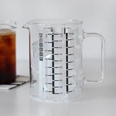 오븐사용가능 모스 내열유리 계량컵 1L_(1808169)
