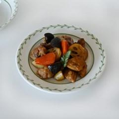 루리프 가든 플레이트 접시 19.5cm_(1805521)
