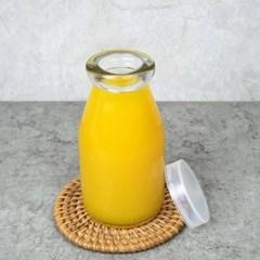 유리병 우유병 180ml 음료 저장용기 밀폐용기 공병판매