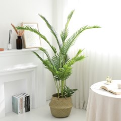 인조나무 그린 아레카야자 170cm 조화 화분 야자나무_(2349059)