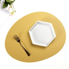 오믈리 에그 실리콘 테이블 매트 (4color)