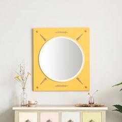 수입 엔틱가구 RG 31 벨리타 옐로우 벽걸이 거울