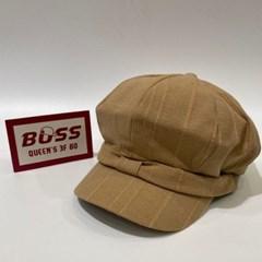 리본 챙넓은 데일리 꾸안꾸 헌팅캡 마도로스 모자