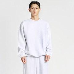 남자 겨울 빅사이즈 오버핏 기모 무지 기본 맨투맨