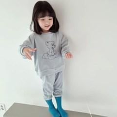 폴) 구름베어 아동 상하세트-주니어까지