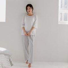 시우 면모달 잠옷바지(그레이)
