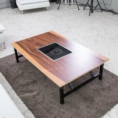 가정용 인덕션 철제 접이식 좌식 테이블 1200 8컬러