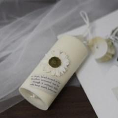 3월 탄생화향초 데이지향초 기념일선물 생일선물 캔들선물