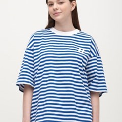 Stripe Over Long T-Shirt