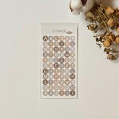 알파벳 스티커 / Alphabet Sticker