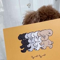 네고메 고고(gogo) 엽서
