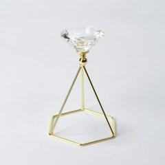 [모던하우스] 다이아몬드 캔들홀더 H16cm