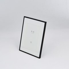 [모던하우스] 블랙 메탈 프레임 4X6