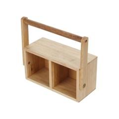 [모던하우스] 고무나무 스틸 핸들박스