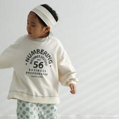 열) 맘커플 넘버링 아동 맨투맨-주니어까지