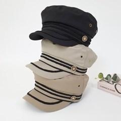 기본 무지 챙넓은 심플 꾸안꾸 헌팅캡 마도로스 모자