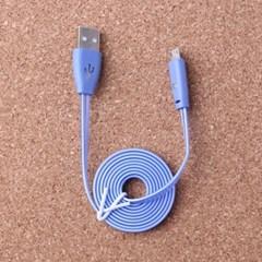 USB 레인보우 5핀 케이블/단체 선물용 스마트폰케이블