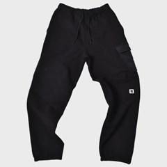 [프리키쉬빌딩] HARDTACK SIDE POCKET LONG PANTS ㅡ BLACK