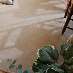 먼지없는 마이크로화이바 원형러그 (3color)