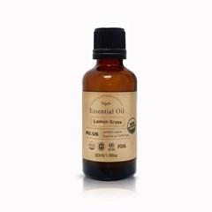 퓨어스 유기농 레몬글라스 에센셜오일 100%(