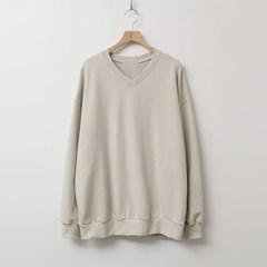 Soft V-Neck Sweatshirt