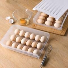슬라이딩 냉장고 계란 달걀 보관함 (2개)_(639419)