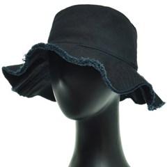 KAU03.술장식 면 여성 벙거지 모자 버킷햇 봄 여름 챙모자