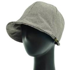 KCU02.튤립 라벨 여성 벙거지 모자 버킷햇 봄 여름 챙모자