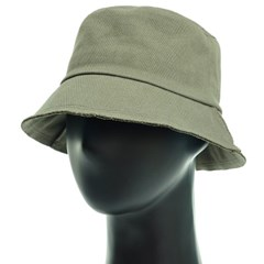 KCU41.무지면 리벳 벙거지 모자 버킷햇 봄 가을 챙모자