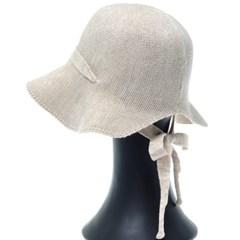 KKU07.백오픈니트 여성 벙거지 모자 버킷햇 봄 가을 챙모자