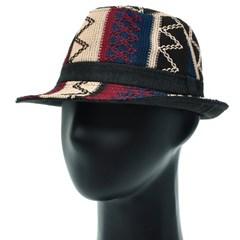 KMF72.에스닉 니트 빅사이즈 남성 페도라 중절모 59 봄 여름 모자