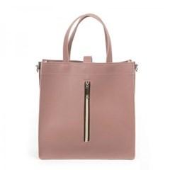 여자 비즈니스백 지퍼장식 사각 크로스백 서류 가방