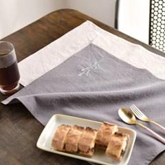 라벤더 자수 테이블매트 2color_(2484950)