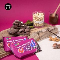 [비고] 다크 넛츠 앤 베리 유기농 초콜릿 85g