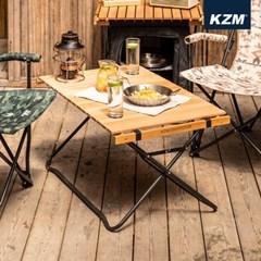 카즈미 윈썸 우드 롤 업 테이블 K20T3U014 감성 접이식 우드