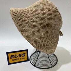 챙넓은 지사 뜨개 기본 데일리 대두 패션 썬캡 모자
