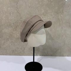 무지 기본 패션 꾸안꾸 데일리 헌팅캡 마도로스 모자