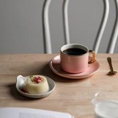 온나 골드라인 라떼잔 카페 커피잔 세트