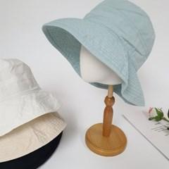 와이드 챙넓은 무지 기본 패션 버킷햇 벙거지 모자