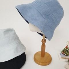 데님 무지 기본 꾸안꾸 데일리 버킷햇 벙거지 모자