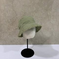 올풀림 챙넓은 기본 대두 깊은 버킷햇 벙거지 모자