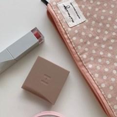 [바로배송] 3size 도트파우치 핑크color